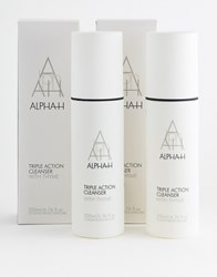 Alpha H Triple Action Cleanser Duo 200Ml No Colour Clear