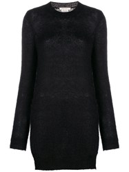 Alyx Dress Like Knitted Jumper Black