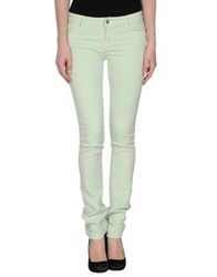 Acquaverde Denim Pants Light Green