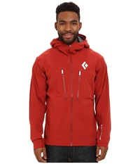 Black Diamond Induction Shell Deep Torch Men's Coat Red