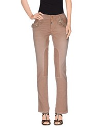 Blumarine Denim Denim Trousers Women Brown