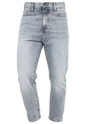 Kiomi Relaxed Fit Jeans Light Blue Dirty Denim
