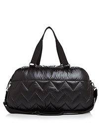 Sol And Selene Walk This Way Gym Bag Black Silver