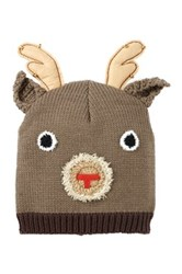 Bioworld Reindeer Antlers Beanie Brown