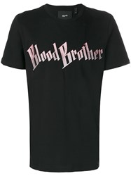 Blood Brother Dogs T Shirt Black