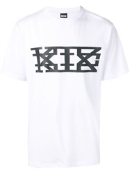 Ktz Logo Printed T Shirt White