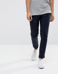 Minimum Frees Slim Fit Trousers Navy