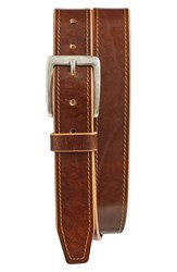 Johnston And Murphy Men's Leather Belt