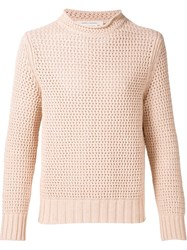Marc Jacobs Woven Sweater Pink And Purple