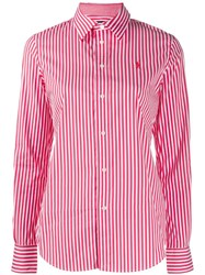 Polo Ralph Lauren Striped Slim Fit Shirt Red
