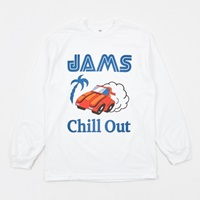 Chill Out Passing Breeze L S T Shirt White