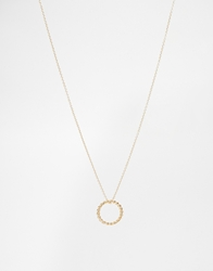 Asos Vintage Style Ring Long Necklace Gold