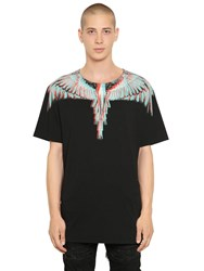 Marcelo Burlon Salvador Printed Cotton Jersey T Shirt