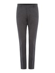 Selected Mylo Don Plain Weave Suit Trousers Grey