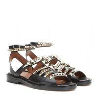 Givenchy Embellished Leather Gladiator Sandals