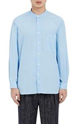 Tomorrowland Banded Collar Shirt Blue