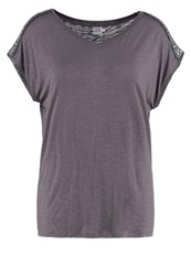 Saint Tropez Print Tshirt Gull Gray Grey
