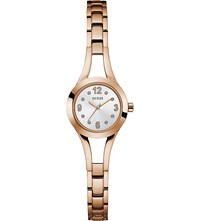Guess W0912l3 Evie Gold Plated And Stainless Steel Watch