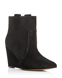 Rebecca Minkoff Bianca Wedge Booties Black