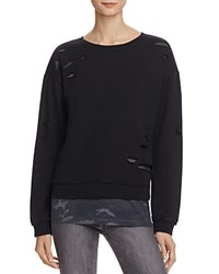 Generation Love Layered Look Camo Sweatshirt 100 Bloomingdale's Exclusive Grey