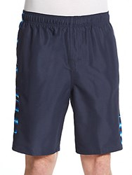 Nike Tie Dye Trim Volley Shorts Obsidian