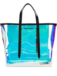 Dsquared2 Iridescent Tote Bag Purple
