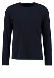 Banana Republic Long Sleeved Top Preppy Navy Dark Blue