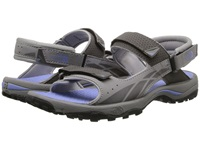 The North Face Storm Sandal Q Silver Grey Grapemist Blue Women's Shoes Gray