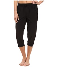 Asics Styled Woven Capri Performance Black Women's Workout