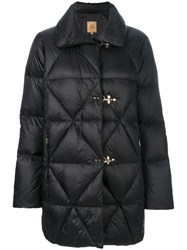 Fay Classic Padded Coat Women Cotton Feather Down Polyamide Xl Black