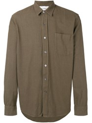 Our Legacy Chest Pocket Shirt Green