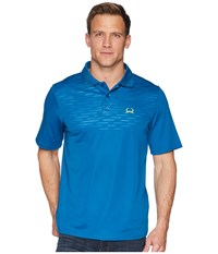 Cinch Athletic Tech Polo Blue 1 Short Sleeve Pullover Multi