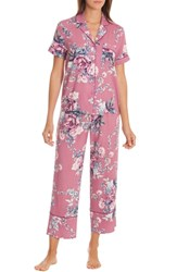 In Bloom By Jonquil Crop Pajamas Bed Of Roses Adobe