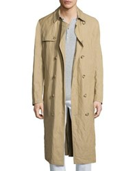 Michael Kors Inox Lightweight Trench Coat Khaki