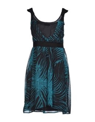 Ter De Caractere Short Dresses Dark Blue