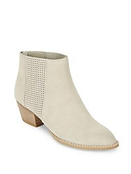 Dolce Vita Saura Suede Booties Taupe