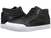Dc Evan Hi Se Black Black Women's Shoes