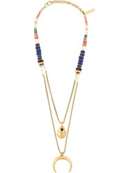 Lizzie Fortunato Jewels 'Midnight Ranch' Necklace Yellow And Orange