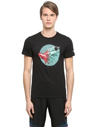 Oakley Slim Fit Cool Frog Cotton T Shirt