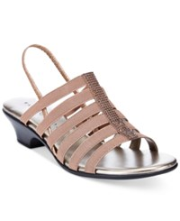 Karen Scott Estevee Sandals Only At Macy's Women's Shoes Mocha