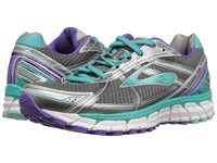 Brooks Defyance 9 Anthracite Ceramic Passion Flower Women's Running Shoes Gray