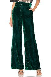 House Of Harlow X Revolve Mona Belted Pant Dark Green
