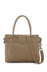 Liebeskind Glory Collapsible Leather Tote Beige