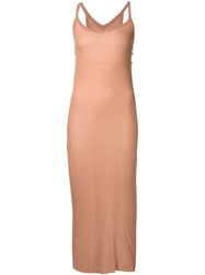 Rick Owens Lilies Fitted Tank Dress