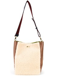 Muveil Two Tone Tote White