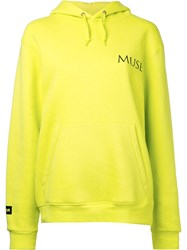 Premier Amour Muse Hoodie Women Cotton Polyester M Yellow Orange