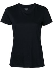 Vince Round Neck T Shirt Black