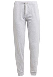 Zalando Essentials Tracksuit Bottoms Light Grey Melange Mottled Light Grey