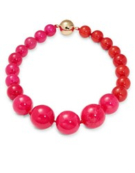 Trina Turk Beaded Necklace Pink