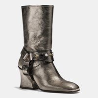 Coach Harness Boot Smog